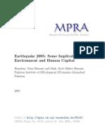 MPRA Paper 9519