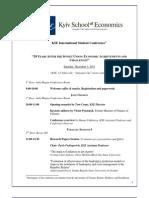 KSE Conference Agenda