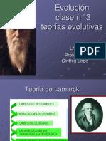 Evolución clase n°3