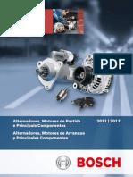 Catalogo Alternadores Motores Partida Principais Componentes 2011 2012