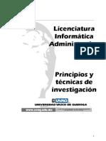 LIA Principios y técnicas de investigación