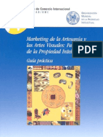 Marketing de la Artesanía y las Artes Visuales