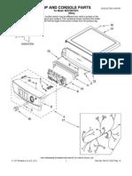 Amana Dryer PartsList NED7200TW10