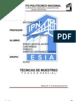 TECNICAS DE MUESTREO