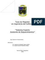 Tesis de Magister 2001