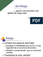 Gestion de Riesgo +PMBOK