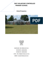 John Blandy Voluntary Controlled Primary School - School Prospectus