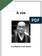 KodoSawaki a Vos