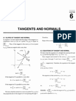 Tangents & Normal RDSA