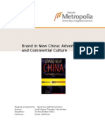 Topic 2 - Branding in China - Jose M Tejedor