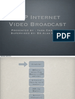 P2P Internet Video Broadcast