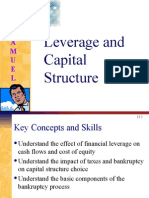 Leverage&Capital Structure