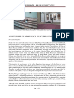 White Paper Police Department Reform