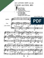 ti Arie Antiche - Tenore o Soprano Giordani Cesti, Gluck, A Scarlatti Bononcini Caldara, Pergolessi Carissimi Vivaldi, Lotti, Hasse, Handel, Mozart