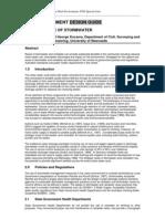 Australia; BDB Environment Design Guide