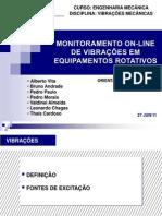 Monitoramento On-line de Vibrações