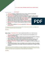 Civil Procedure Exam Outline