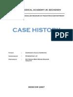 Case History 1st Sem