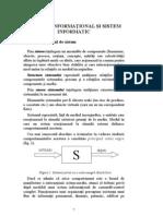 Sistem Informational Si Sistem tic