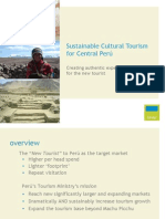 Tourism Investment Forum  Peru BINDER