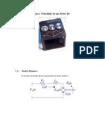 Controle de Posição e Velocidade de um Motor DC