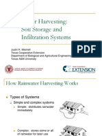 Texas; Rainwater Harvesting Soil Storage and Infiltration Systems - Part 2