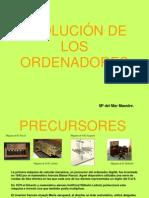 EVOLUCIÓN DE LOS ORDENADORES