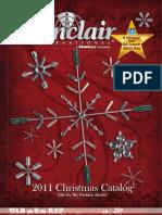 Sinclair 2011 Christmas Catalog