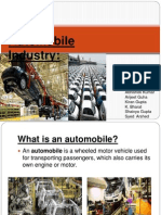 Automobile Industry 1