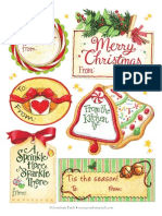 Gooseberry Patch Christmas Tags