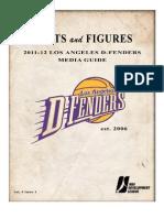 2011-12 D-Fenders Media Guide