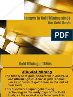 Changes Gold Mining