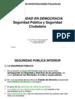 Seguridad Publica y Ciudadana
