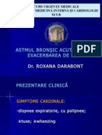 Astmul Bronsic Acut Sever Si BPOC Acutizat