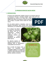 Manual de producción de Sacha Inchi
