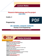 Lecture Notes on Research Methodology-Week-7