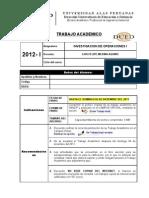 Ta5-Investigacion de Operaciones i - Medina