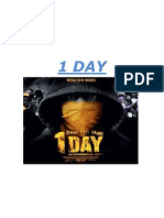 One Day Poster Analysis