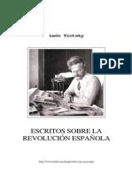 8716736 Trotsky Escritos Sobre La Revolucion Espanola ion