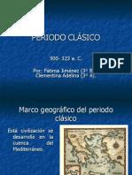 PERIODO CLASICO GRIEGO