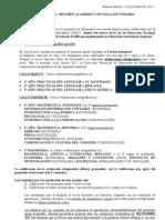 RESOLUCIÓN 587-11 RÉGIMEN ACADÉMICO ESCUELA SECUNDARIA - 11-10-2011