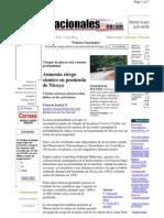 Aumenta Riesgo Sismico en La Pen. de Nicoya