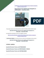 Apostila Concurso Petrobrás Técnico de Logística de Transporte Jr.  OPERAÇÃO 2012