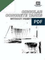 Pca Circular Concrete Tanks