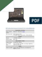 HP Pavilion Entertainment Notebook PC Dv4