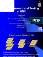 CLT-Research and Testing at UBC