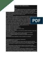 Responsabilidad Social en Las Instituciones y Organizaciones
