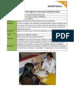 VES Y VMT - Salud y Nutrición-Digitación información Campaña de Salud