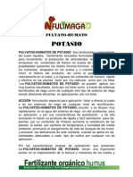 Fulvato-humato de Potasio