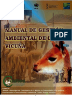 MANUAL DE GESTION AMBIENTAL DE LA VICUÑA